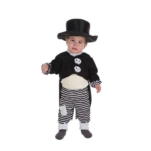Fantasia de baby Boy-Skelet (0-12 meses)