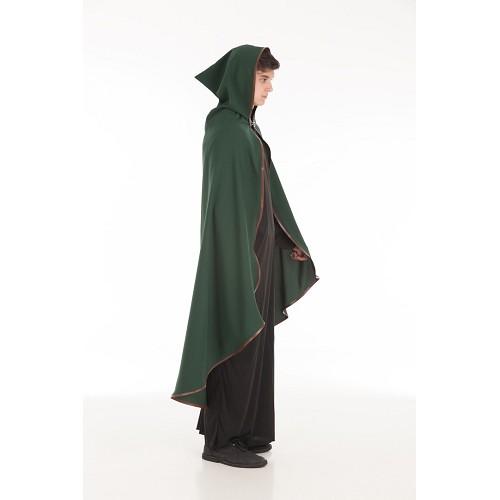 Tamanho de pele guarnição verde brasão medieval L