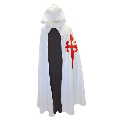 Único tamanho de jaleco branco de Santiago