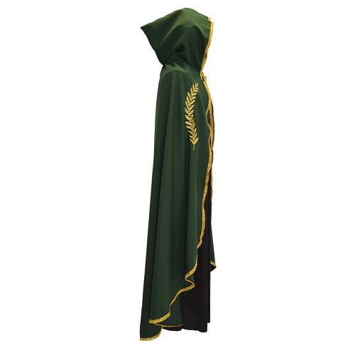 Marian camada verde ouro bordado t-l