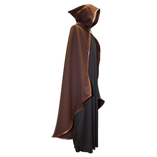 Brasão medieval afiação marrom pele t-l