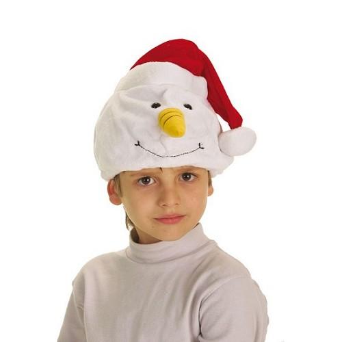 Boneco de neve chapéu
