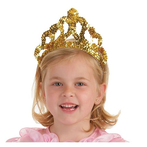 Ouro de coroa de princesa