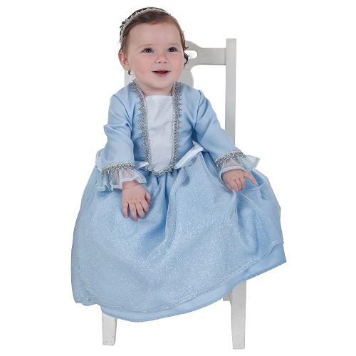 Pequena princesa bebê traje (0-12 meses)
