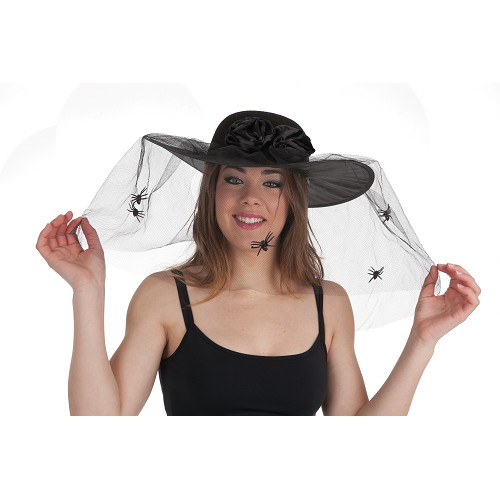 Viúva de chapéu