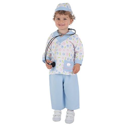 Fantasia de veterinária de bebê (0 a 12 meses)