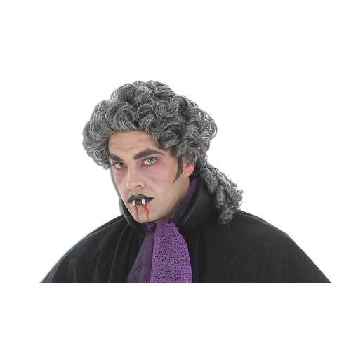 Peruca cinza de vampiro
