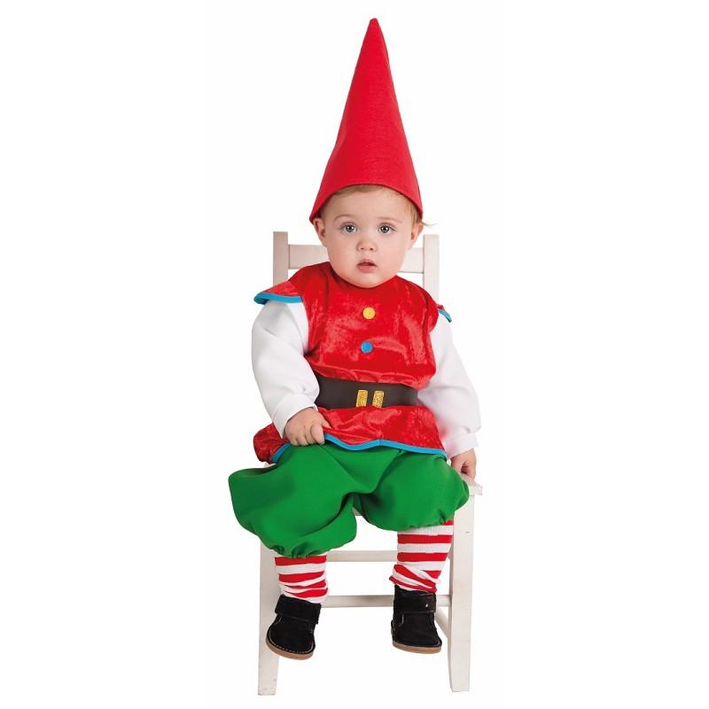 Bebê fantasia Gnome (0-12 meses)