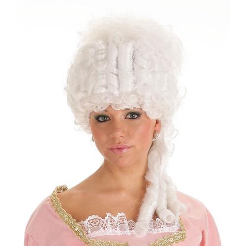 Peruca Maria Antoinette branco