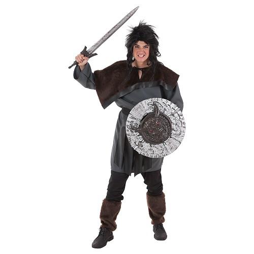 Escudo e espada Guerrero53x74 cm
