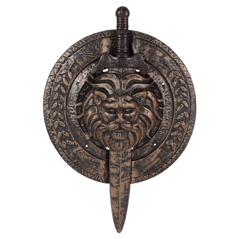Escudo e espada gladiador 53 x 74 cm