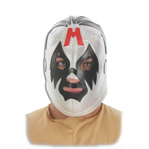 Máscara infantil de prata, vermelho, azul,
