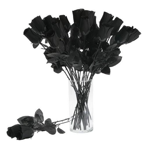Black rose 44 Cm.