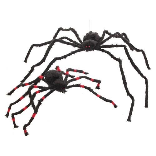 Aranha listras vermelho Med.