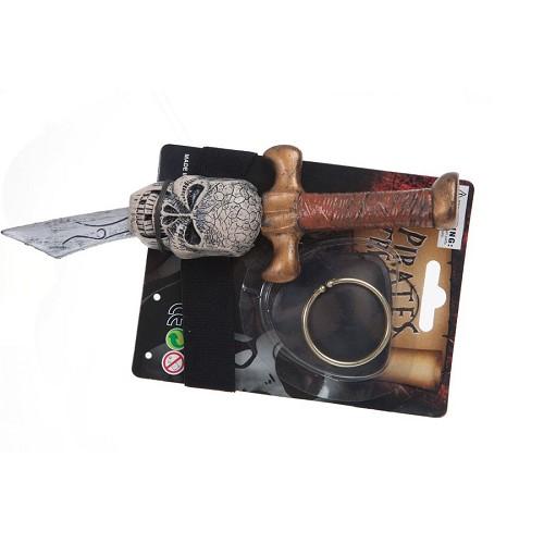 Conjunto pirata (punhal 22 cm)