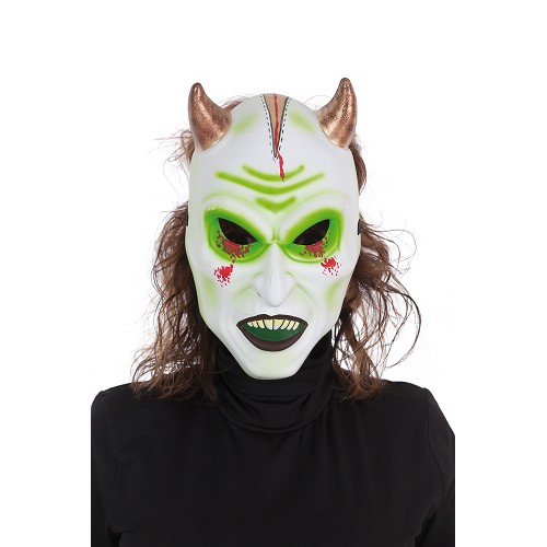 Máscara diabo branco