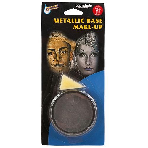 Frasco Maquiagem Metálico