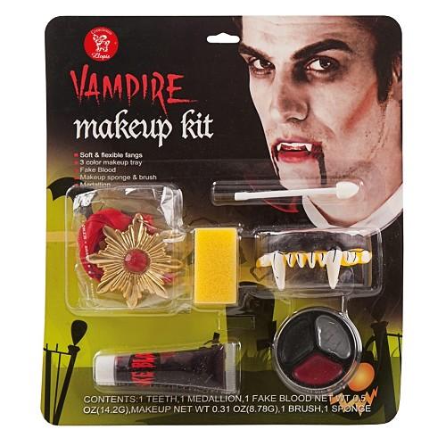 maquiagem de vampiro de luxo em setembro