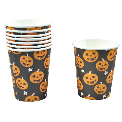 Abóbora de Halloween conjunto