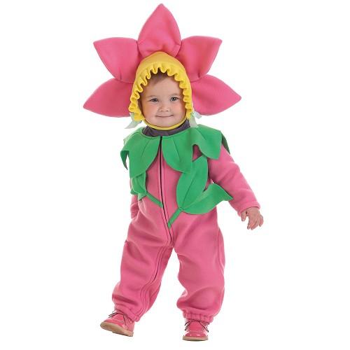 Flor de fantasia bebê (0 a 12 meses)