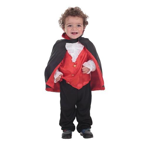Bebê fantasia Dracula (0 a 12 meses)
