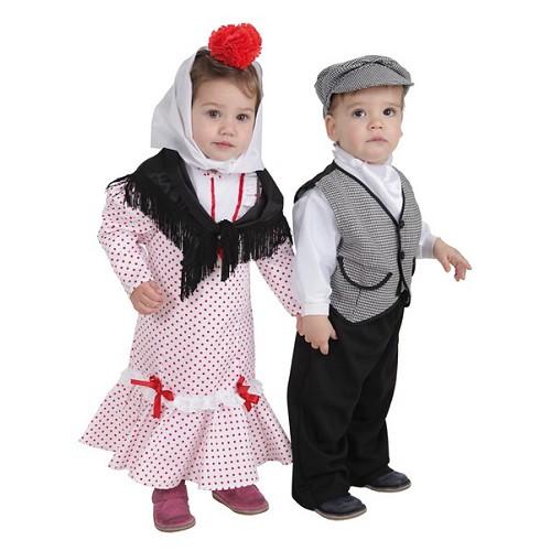 Fantasia de bebê t Chulapa Coral (1 a 2 anos)