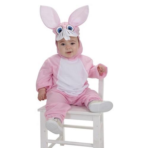 Fantasia de bebê Pink Bunny (0 a 12 meses)