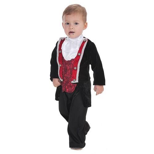 Fantasia de bebê vampiro gótico (0 a 12 meses)