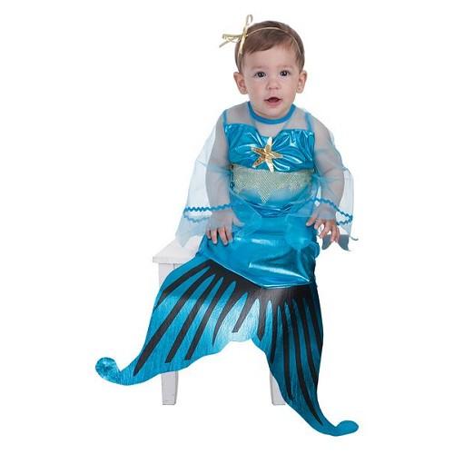 Fantasia pequena sereia baby (0 a 12 meses)