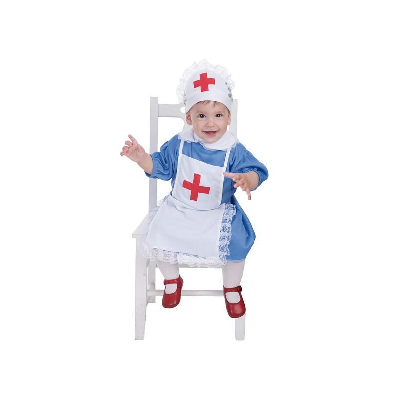 Enfermeira de fantasia bebê (0 a 12 meses)