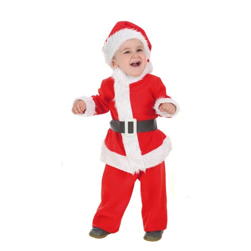Fantasia tamanho bebê bebê Noel Xs (0 a 12 meses)