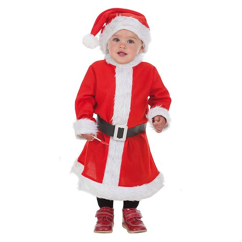 Tamanho de fantasia Baby Mama Noel Xs (0 a 12 meses)