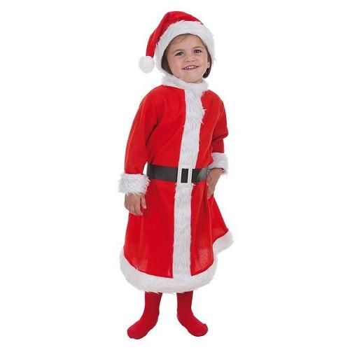 Criança costume tamanho da Mamãe Noel S (de 1 a 2 anos)