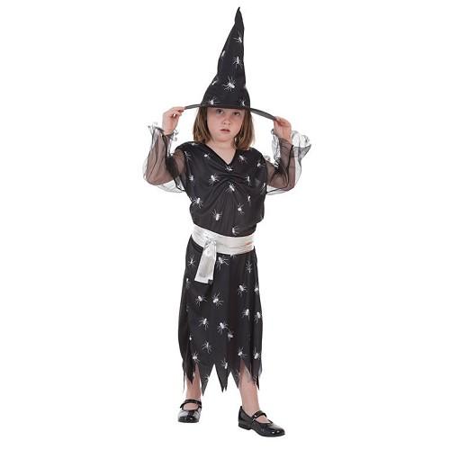 Aranhas de bruxa de fantasias infantis