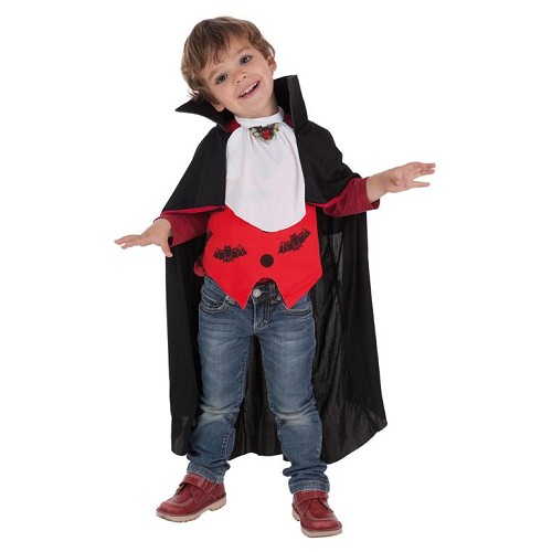 Fantasia infantil de morcego-vampiro