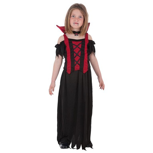 Criança traje Vampira Alba
