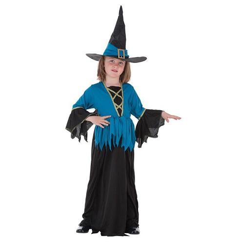 Fantasia infantil bruxa azul