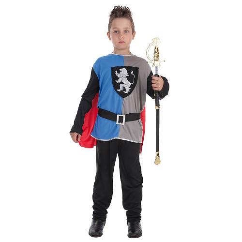 Criança costume cavaleiro Medieval