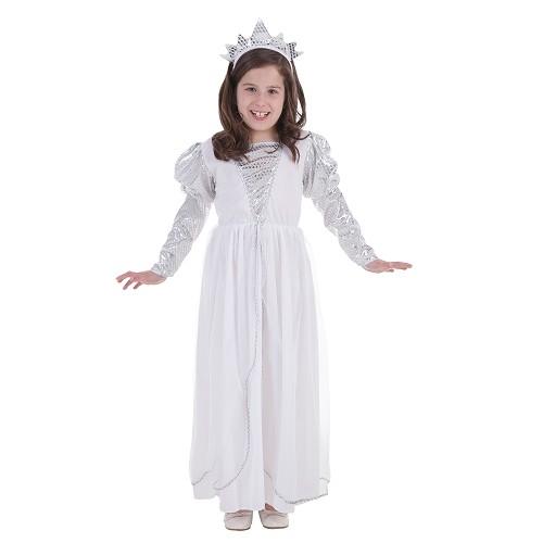 Criança fantasia princesa Branca