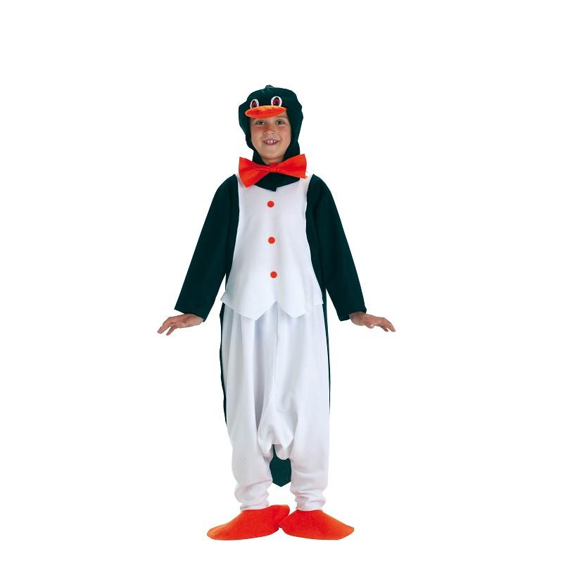 Fantasia infantil de pinguim
