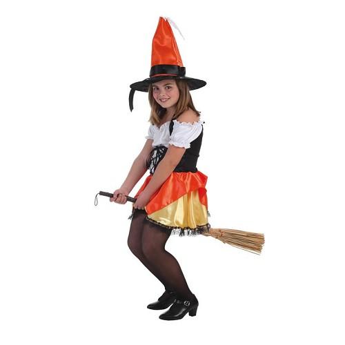 Bruxa de criança traje Amaranta