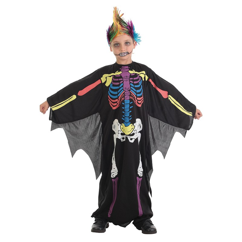 Fantasias infantis-skeleto cor