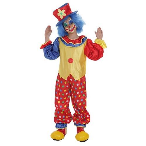 Palhaço de criança traje Pepon
