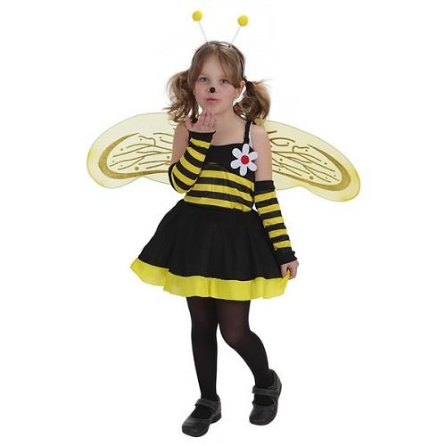 Fantasia infantil abelha flor