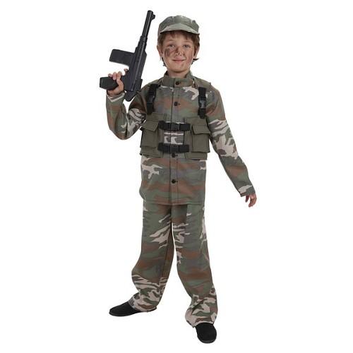 Infantil fantasias das forças especiais