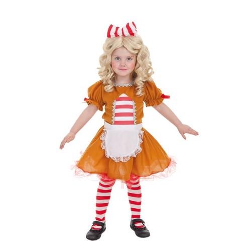 Criança costume biscoito doce