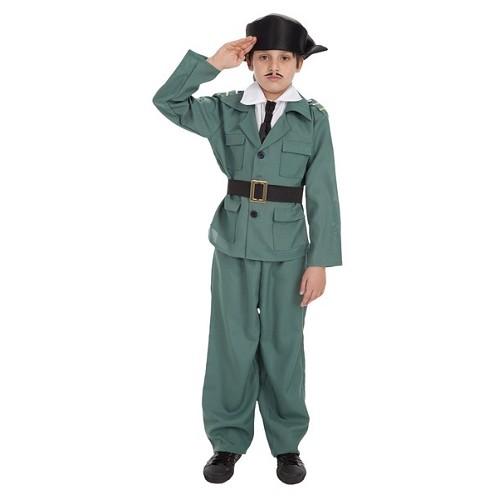 Fantasia de criança de guarda civil