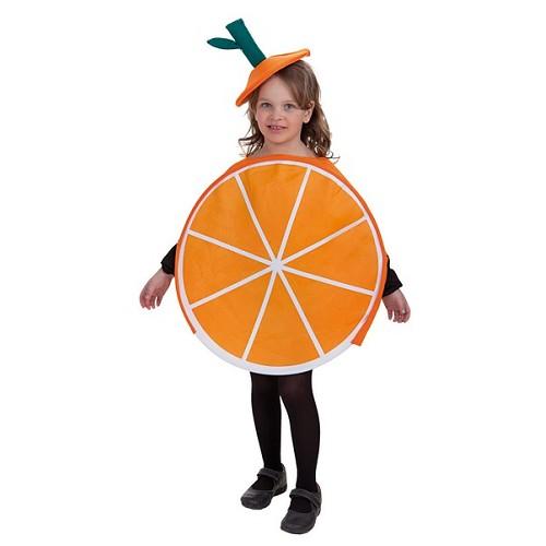 Fantasia infantil laranja