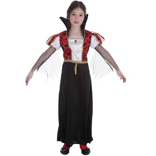 Fantasia infantil de Vampira gótica
