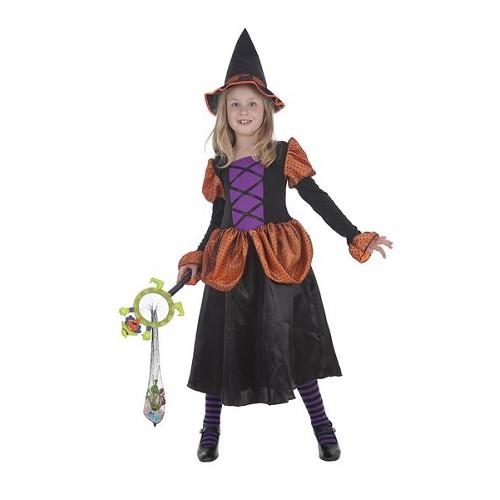Bruxa de fantasias infantis Simpatica